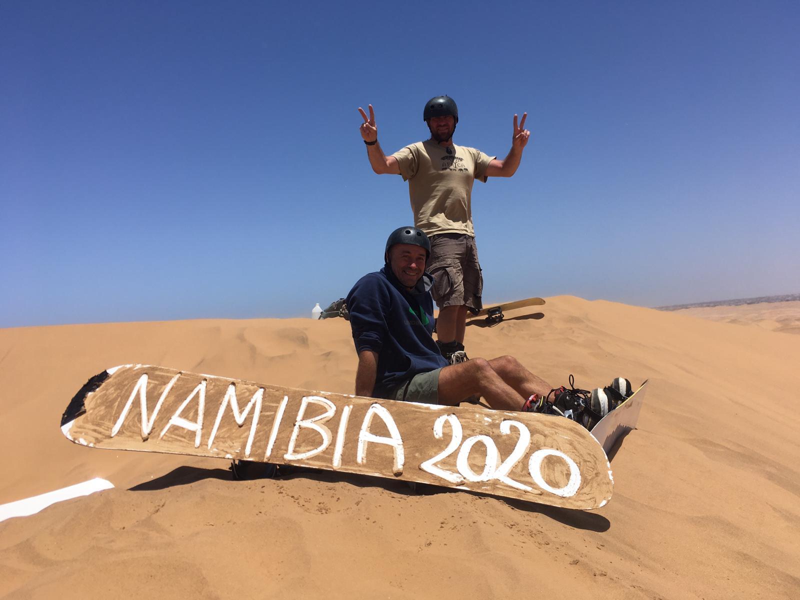 Namibie a výprava na řeku Kunene 2020